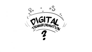 Photo of Whiteboard Digital Transformation