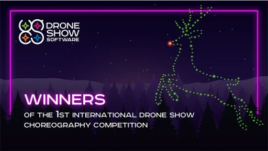 Photo of 1st International Drone Show Choreography Competition Winners Announced